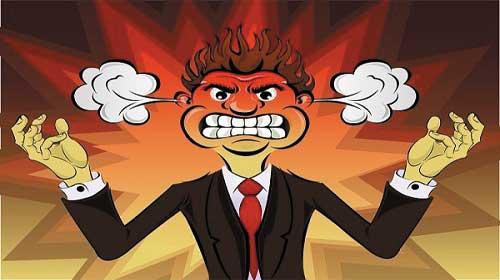 Biểu hiện sự tức giận trong tiếng Anh