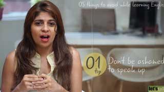 5 điều cần tránh để nói tiếng Anh lưu loát
