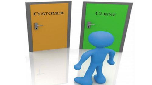 Phân biệt cách dùng Customer và Client