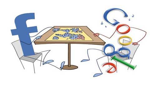 "Google, Facebook ""ngốn"" trên thị trường Internet toàn cầu - Google, Facebook Carve out 'Internet Empires'"