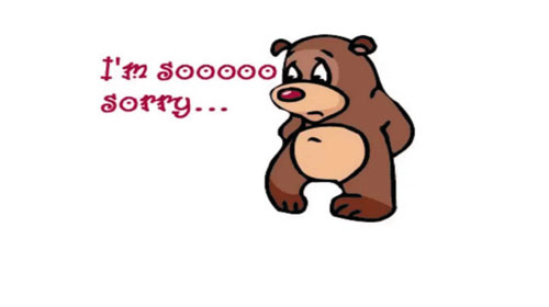 """Nói lời """"Xin lỗi"""" đúng cách trong tiếng Anh."""