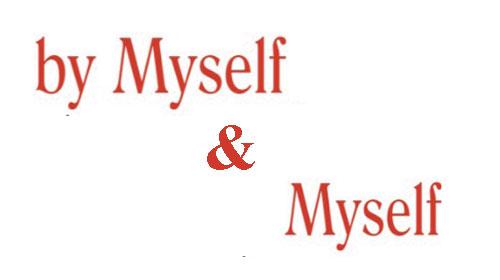 """""""MYSELF"""" Phân biệt với """"BY MYSELF"""""""