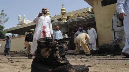Một vụ đánh bom tự sát giết chết 28 người tại đám tang ở Pakistan - Pakistan funeral suicide bomb attack kills 28