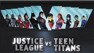 Liên Minh Công Lý Đụng Độ Với Nhóm Teen Titans