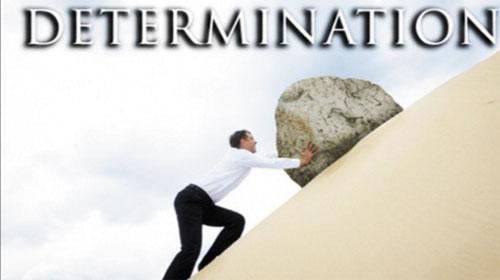 Lòng quyết tâm - Determination