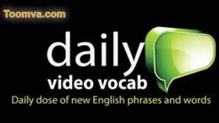 Từ vựng tiếng Anh hàng ngày