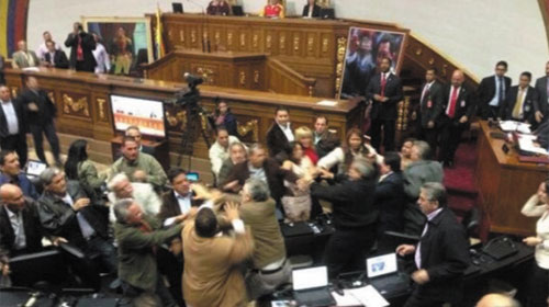 Ẩu đã trong quốc hội - Fight in parliament