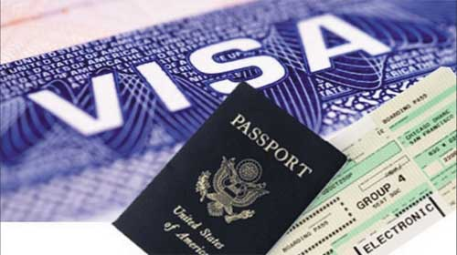 Phỏng vấn xin Visa bằng tiếng Anh.