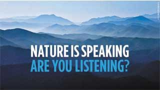 Thiên nhiên lên tiếng
