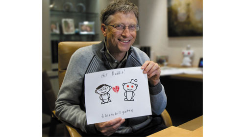 Bill Gates trả lời phỏng vấn - Interview with Bill Gates
