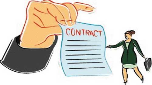 Tiếng Anh chủ đề: các mục trong hợp đồng.