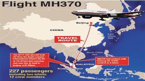 Sự cố chuyến bay MH370 - MH370 Flight Incident