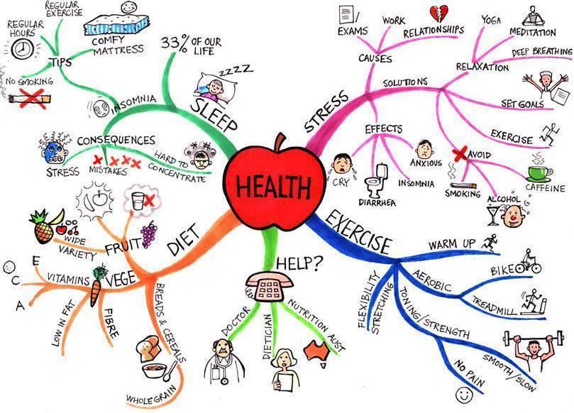 Tiếng Anh chủ đề: Sức khỏe