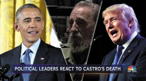 Obama và Donald Trump nói về Fidel Castro sau khi ông qua đời - Obama and Donald Trump respond to the death of Fidel Castro