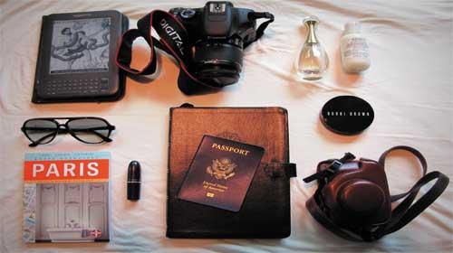 Mang gì khi đi du lịch?