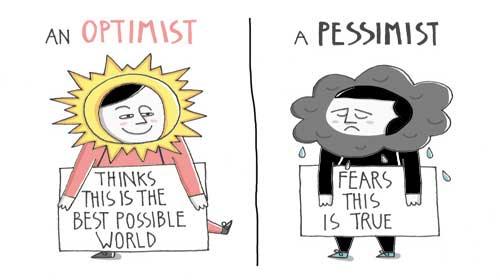Để xem chuyện gì xẩy ra vớ một người lạc quan và một người bi quan - What To Give An Optimist And A Pessimist