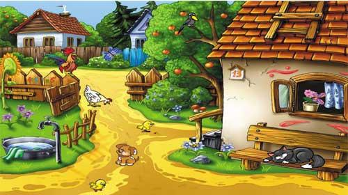 Tiếng Anh chủ đề: làng quê
