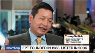 Ông Trương Gia Bình - Chủ tịch FPT: Tìm kiếm M&A vòng quanh thế giới.