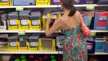 Back to School Supplies Haul- Shopping at Dollar Tree