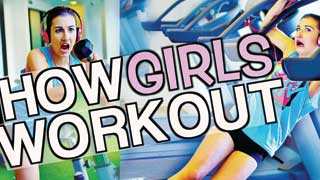 What Girls REALLY Do In The Gym! | Expectation vs. Reality!