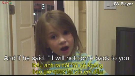 Cô bé 5 tuổi cần 1 công việc trước khi kết hôn