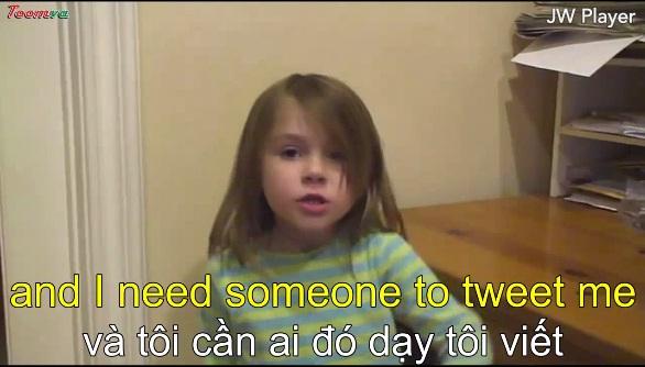 Cô bé 5 tuổi đã tìm thấy công việc mơ ước của mình