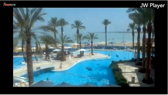 Chuyến du lịch đến khu nghỉ dưỡng Crown, tại khách sạn Biển chết
