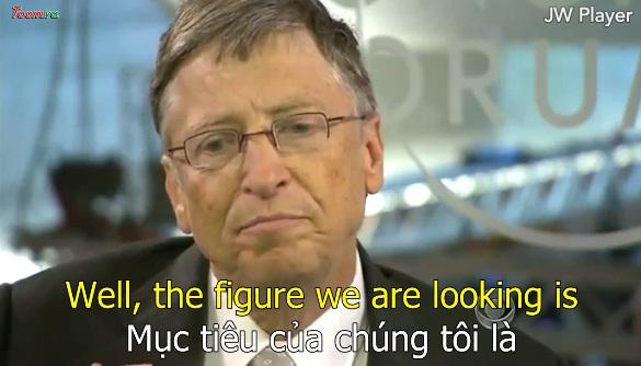 Bill Gates góp phần xóa bỏ bệnh bại liệt trên thế giới