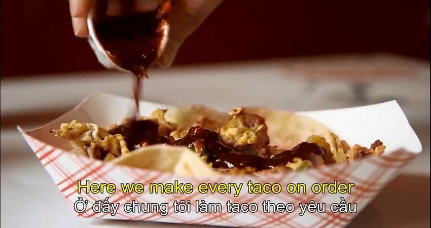 Món taco sáng cho mọi bữa ăn