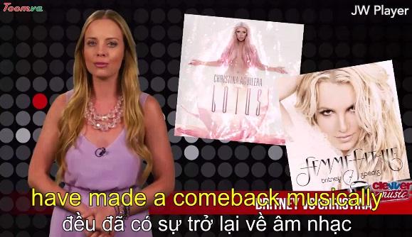 Britney Spears and Christina Aguilera: Đánh giá từ khía cạnh âm nhạc truyền hình!