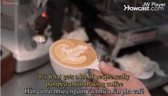 Ly café biết nói: latte nghệ thuật hình trái tim