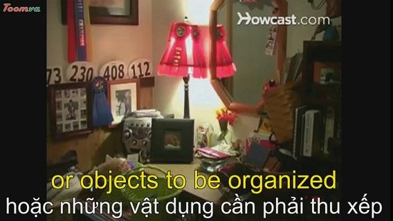 Cách dọn dẹp phòng của mình