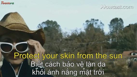 Cách bảo vệ làn da khỏi ánh nắng mặt trời