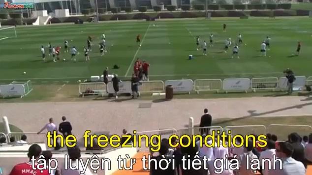Manchester United tập huấn ở Quatar
