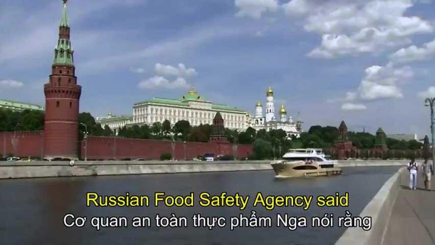 MacDonald bị đóng cửa ở Moscow