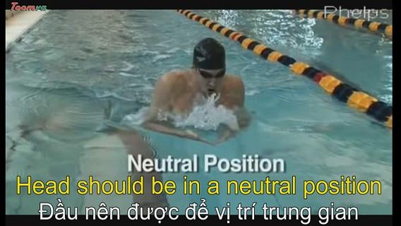 Cái nhìn cận cảnh về màn trình diễn kiểu bơi ếch của Phelps