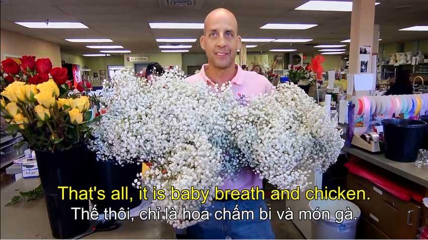 Cửa hàng làm hoa tay gà chính thức của KFC
