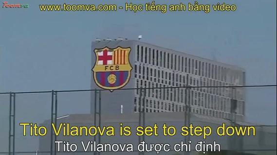 Tito Vilanova trở thành huấn luyện viên của Barcelona