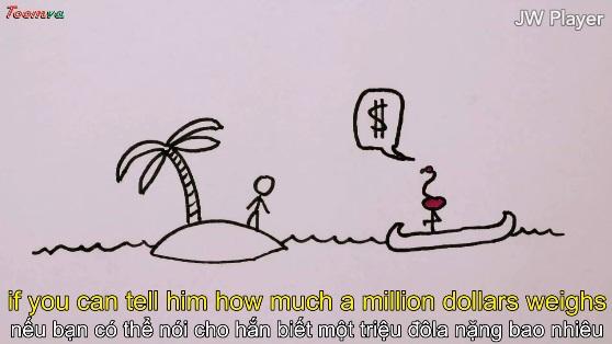 Đo cân nặng của một triệu đô-la bằng ý nghĩ