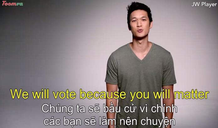 Chúng tôi sẽ bầu cử