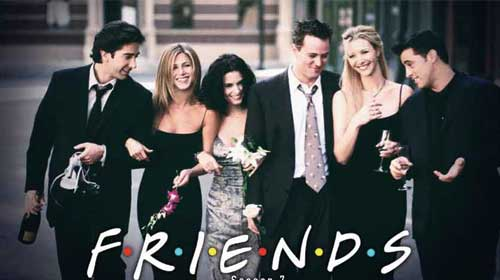 Friends season 3-1: The One with the Princess Leia Fantasy