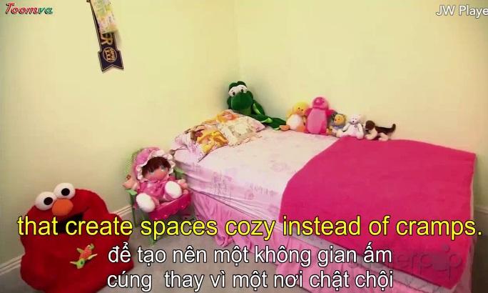 Làm thế nào để có 1 phòng nhỏ ấm cúng