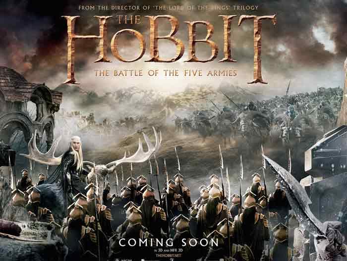 The Hobbit : Trận đại chiến của 5 cánh quân