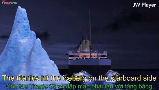Tái thiết lại bằng hoạt hình 3D vụ chìm tàu Titanic